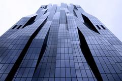 Futuristic Facade (C_MC_FL) Tags: vienna wien reflection building tower window architecture modern facade canon photography eos austria dc sterreich high fotografie angle pov fenst
