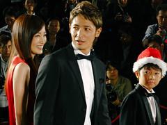 26th Tokyo International Film Festival: Tamaki Hiroshi, Yamazaki Ryutaro & Takanashi Rin from It All Began When I Met You