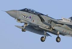 Panavia Tornado GR4 ZA398 'Shiny Two' RAF Marham (liam.killington) Tags: snow nikon aircraft aviation military 300mm nikkor tornado f4 raf d300 panavia gr4 fastjet rafmarham shinytwo za398