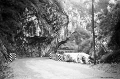 Poffabro Bus del Colvera 1966 (Paolo Bonassin) Tags: blackandwhite bw italy monochrome analog scanned digitized bianconero analogica friuliveneziagiulia poffabro fotoanalogica monochromeshots borghipibelliditalia scansionedelnegativo poffabrobusdelcolvera photoanalogue photodigitizedanalog fotoanalogichedigitalizzate