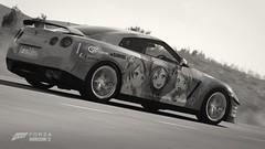 Forza Horizon 2 - 2012 Nissan GT-R Black Edition (DJKustoms) Tags: 2 black anime nissan horizon forza edition 2012 gtr nissangtr fh2 r35 worldcars itasha lovelive nissangtrblackedition forzahorizon2