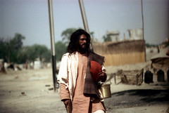 24-128 (ndpa / s. lundeen, archivist) Tags: street people india man color film 35mm beard indian nick streetphotography streetlife agra 24 facialhair 1970s 1972 dewolf uttarpradesh northernindia nickdewolf photographbynickdewolf reel24