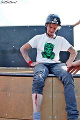 Ben Ayling Shinjury at Barry Skatepark down the Knap