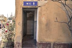 Servizi igienici (DanieleCarrieri) Tags: abandoned stazione treni crocetta