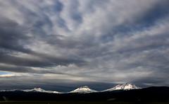 Sunbreak (thies59) Tags: mountains clouds oregon sisters threesisters peaks volcanic