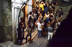 Bar Scene, Lisbon, Portugal (BuzzTrips) Tags: darkness lisboa lisbon basilica restaurants photographs fado cafés afterdark nightfall alleys chiado bairroalto rossiostation arcodaruaaugusta 25deabrilbridge jardimdeestrela statueofcristorei miradourodesantacanterina lisbonblog ruadebicadeduarte
