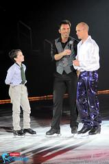 Kurt Browning, Michael Weiss and Kurt's son Gabriel