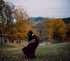Misguided. (nataliefongphotography) Tags: portrait selfportrait fall nature canon dark landscape vermont dream surreal 365 conceptual brenizer nataliefong