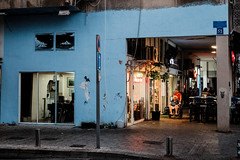 Tel Aviv, 2014 (TLV and more) Tags: street urban night telaviv lumixdmcgm1 lumixgvario1232mm