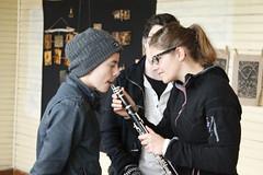 Escuela de Lingue (musicaclasicachiloe) Tags: concierto castro cello msica semana flauta chilo cmara violn lingue