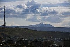Yerevan, Armenia (peghq) Tags: city november autumn sky fall clouds cityscape armenia yerevan epic