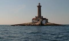 Lost in the Sea (alicedanzo) Tags: trip blue sea sky blackandwhite clouds canon holidays barca mare flag barche croazia viaggio bnw vacanze 2014