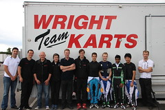 Team Wright Karts With Richard Bradley Motorsport