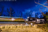 Midnight Meet (TeeVeeJim) Tags: road park county railroad white black night train stars branch shot diesel pennsylvania ns norfolk engine rail junction southern valley locomotive southampton freight cumberland bnsf township shippensburg lurgan 8906 d944cw cleversburg