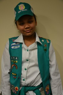 The Girl Scouts and Tuskegee Airman Julius T. Freeman Visits QPTV