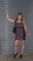 Leeds 051010 (80) (janegeetgirl2) Tags: street out manchester outside canal tv high dress leeds clubbing crossdressing tgirl transgender short transvestite heels milton keynes blackpool crossdresser ts transsexual bno