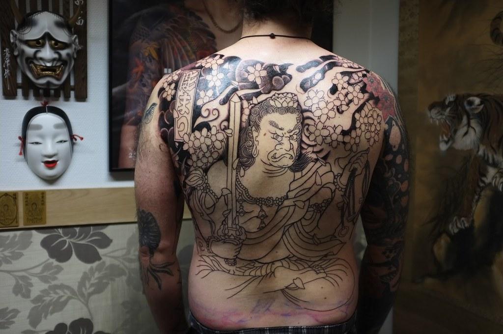 4Hình xăm ở Nhật Bản được coi là biểu tượng tâm linh, dùng để trang trí cơ thể và đôi khi cũng là hình phạt