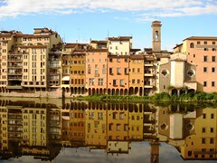 florencepass Arno river from pont vecchio (FlorencePass) Tags: trip travel vacation sky italy building yellow architecture turkey river landscape florence back model like 15 tourist adventure shade come pont arno goodmorning vecchio noch travelphotography spanishgirl wochen traveltheworld skyporn instagram like4likes instatravel passionpassport toprow4toprow