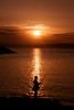 Beautiful Sunset. (Photographer Dave C) Tags: sunset sea summer sky sun seascape colour silhouette canon photography cool fishing bangor creative passion stunning coastline photographerdave 2015 northernirealnd creativephotography creativeart canon400d mymindseye mygearandme canonofficial