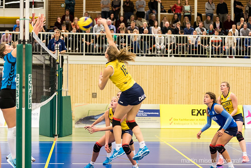 "3. Heimspiel vs. Volleyball-Team Hamburg • <a style=""font-size:0.8em;"" href=""http://www.flickr.com/photos/88608964@N07/32003261283/"" target=""_blank"">View on Flickr</a>"