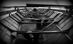 Long Boat. (Maria .... not been around much lately.) Tags: boat rowingboat symetery mono blackandwhite vanishingpoint
