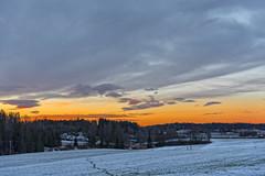 Winter sunrise, Hølen, Norway (Ingunn Eriksen) Tags: sunrise hølen vestby akershus norway winter winterwonderland winterlandscape field nikond750 landscape