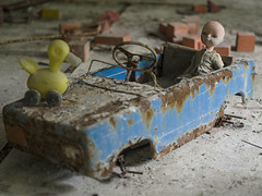 Chernobyl Exclusion Zone (Michael Zahra) Tags: europe ukraine chernobyl pripyat russia soviet cccp nuclear reactor disaster 1986 radiation radioactive urbex urbanexploration travel tourism adventure outdoors school class classroom toy toys children play