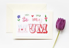 To my mum Mother's day handmade greeting card-5 (roisin.grace) Tags: greetingcards greetingcard handmade handpainted handmadecards handpaintedcards happymothersday mothersday mothersdaycard lovecards lovecard
