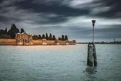 Island of San Michele in Venetian Lagoon (Sizun Eye) Tags: sanmichele venetian lagoon venice venise island cloudy day lagune vénitien sizuneye nikond750 nikon d750 tamron2470mmf28 gettyimages