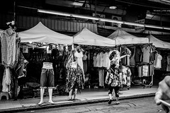 The other half went there | Bangkok 2016 (Johnragai-Moment Catcher) Tags: photography people street streetphotography blackandwhite blackwhite bangkokstreet johnragai johnragaiphotos johnragaistreet johnragaibw juxtaposition