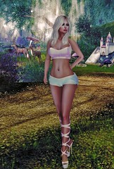 Once upon a time (Calista Tutti) Tags: forest tales fairytale walk path green trees storybook secondlife