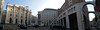 Piazza Affari, The Finger (█ Slices of Light █▀ ▀ ▀) Tags: 2017 march milano 米蘭 borsa milan stock exchange piazza affari sculpture sculptur maurizio cattelan finger il dito love italia 意大利 italy samsung note 4 panorama