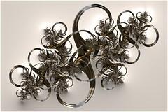8 to Infinity (Ross Hilbert) Tags: fractalsciencekit fractalgenerator fractalsoftware fractalapplication fractalart algorithmicart generativeart computerart mathart digitalart abstractart fractal chaos art mandelbrotset juliaset mandelbrot julia orbittrap metal sculpture spiral copper brass steel