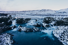 Glanni waterfall (t.basel) Tags: rot iceland island landscape nature snow waterfall waterfalls float floating long time exposure explor discover water iced ice icicle colors reflection mountains mountain hills creek sony a7ii samyang rokinon walimex bowers 24mm vsco kodak ektar 14