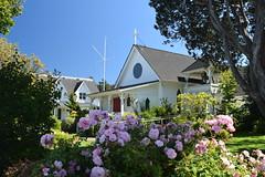 Emmanual Episcopal Church (Worthing Wanderer) Tags: washington usa sunny summer hot sea mountains islands sanjuanislands orcasisland anacortes eastsound