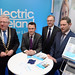 Joe Dolan, IHF President, Minister Patrick O'Donovan, Tim Fenn, IHF CEO and Jim Dollard, Electric Ireland