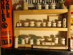 Porcelains (Pinnerbark) Tags: porcelain spools strains insulators