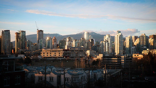 Vancouver view from Visier