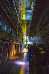 Ghost tour (Kansas Poetry (Patrick)) Tags: missouristatepenitentiary missouri prison abandoned haunted paranormal color tourists jeffersoncity patrickemerson patricknancyforever