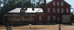 Red House (AAcerbo) Tags: angelisland sanfrancisco california abandoned militarybase redhouse widescreen cropped 241