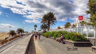 Paseo Costa Canaria, Playa del Ingles, Gran Canaria, Spain - 4807