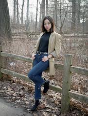Jenny Lee (ocarmona) Tags: model fuji pro400h bronica etrs zenzanon 75mm f28 film filmphotography portrait femalemodels asian korean