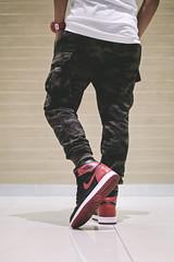 Keep calm and wear Jordan. (Andy @ Pang Ket Vui ( shootx2 )) Tags: air jordan 1 retro aj1 sneaker legend street bred camo fashion gshock watch shopping