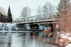 Iisalmi (Tuomo Lindfors) Tags: iisalmi suomi finland paloisvirta virta stream vesi water dxo filmpack topazlabs clarity silta bridge myiisalmi tamronsp70200f28divcusd