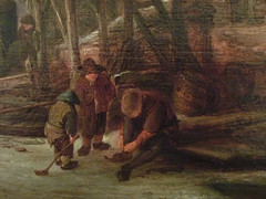 OSTADE (van) Isaac - Paysage d'Hiver (Custodia) - Détail 4 (L'art au présent) Tags: art painter peintre details détail détails detalles painting paintings peintures peinture17e 17thcenturypaintings peinturehollandaise dutchpaintings peintreshollandais dutchpainters tableaux custodia paris france holland hollande church église joueurs play game players fun plaisir pleasure patinage patineurs skating skaters hockey hockeysurglace ice icehockey man men snow winter hiver neige cold froid luge sled sledge lake lac lacgelé tree trees nature arbres figure figures people personnes auberges chevaux animal animaux animals dog dogs pet chien auberge hostel inn