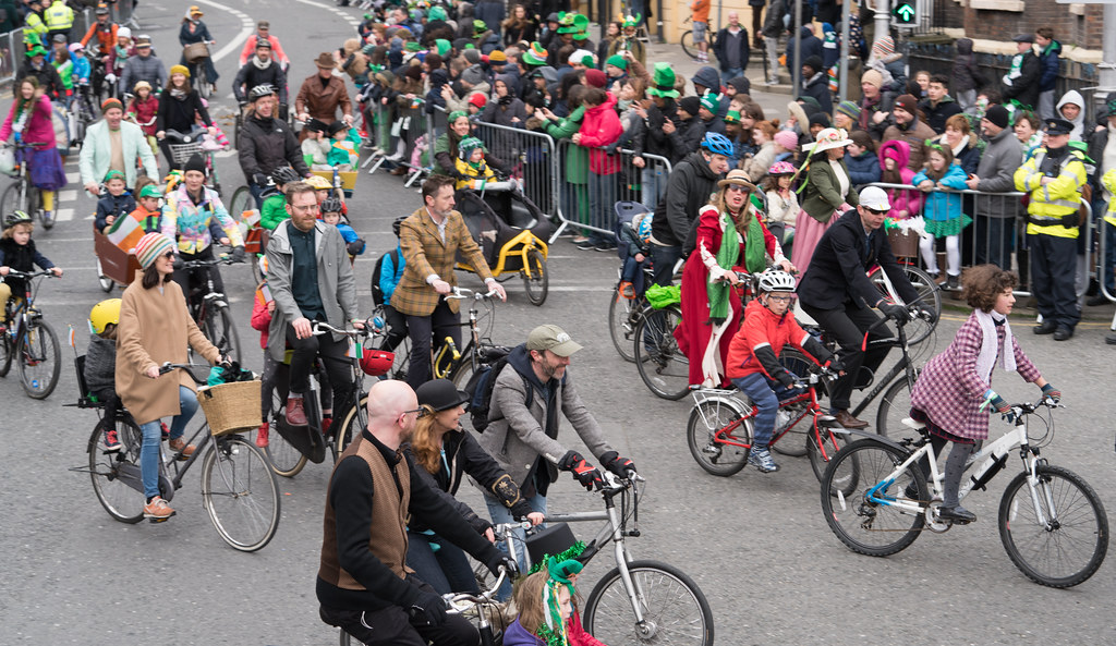 DUBLIN CYCLING  CAMPAIGN [ ST PATRICKS DAY PARADE 2017]-125819