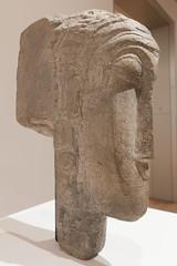 Amedeo Modigliani, Head, 1915? (Sharon Mollerus) Tags: museumofmodernart sculpture newyork unitedstates us