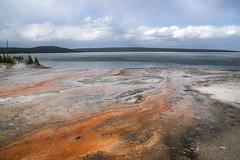 natural textures (Sabinche) Tags: yellowstone yellowstonenationalpark usa landscape nature lake