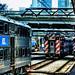 Chicago Metra Trains