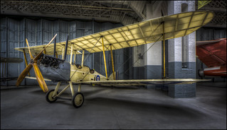 Royal Aircraft Factory RE.8 (Duxford IWM)